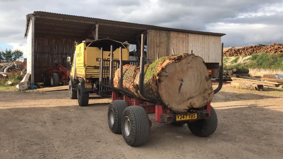 Timber Haulage, Movement and Transportation