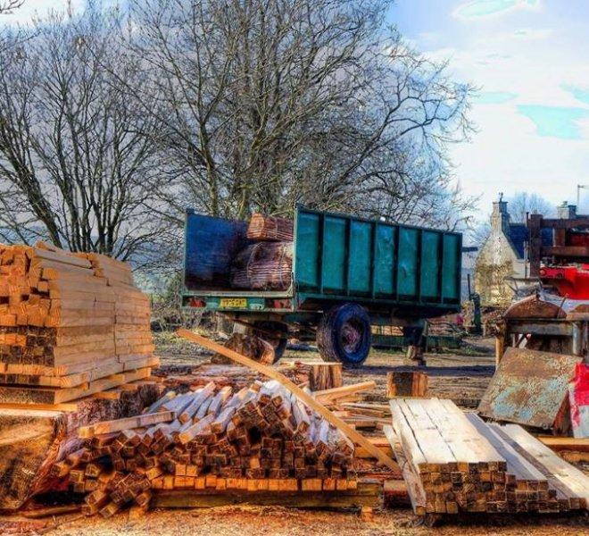 mobile sawmill services scotland