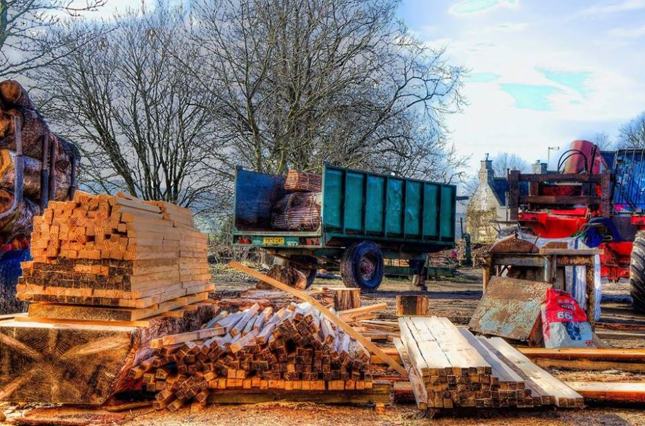 mobile sawmill services scotland