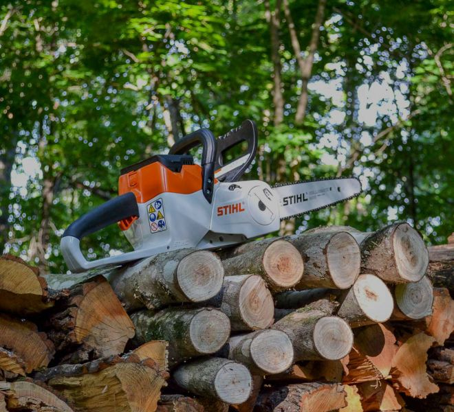 STIHL-chainsaw